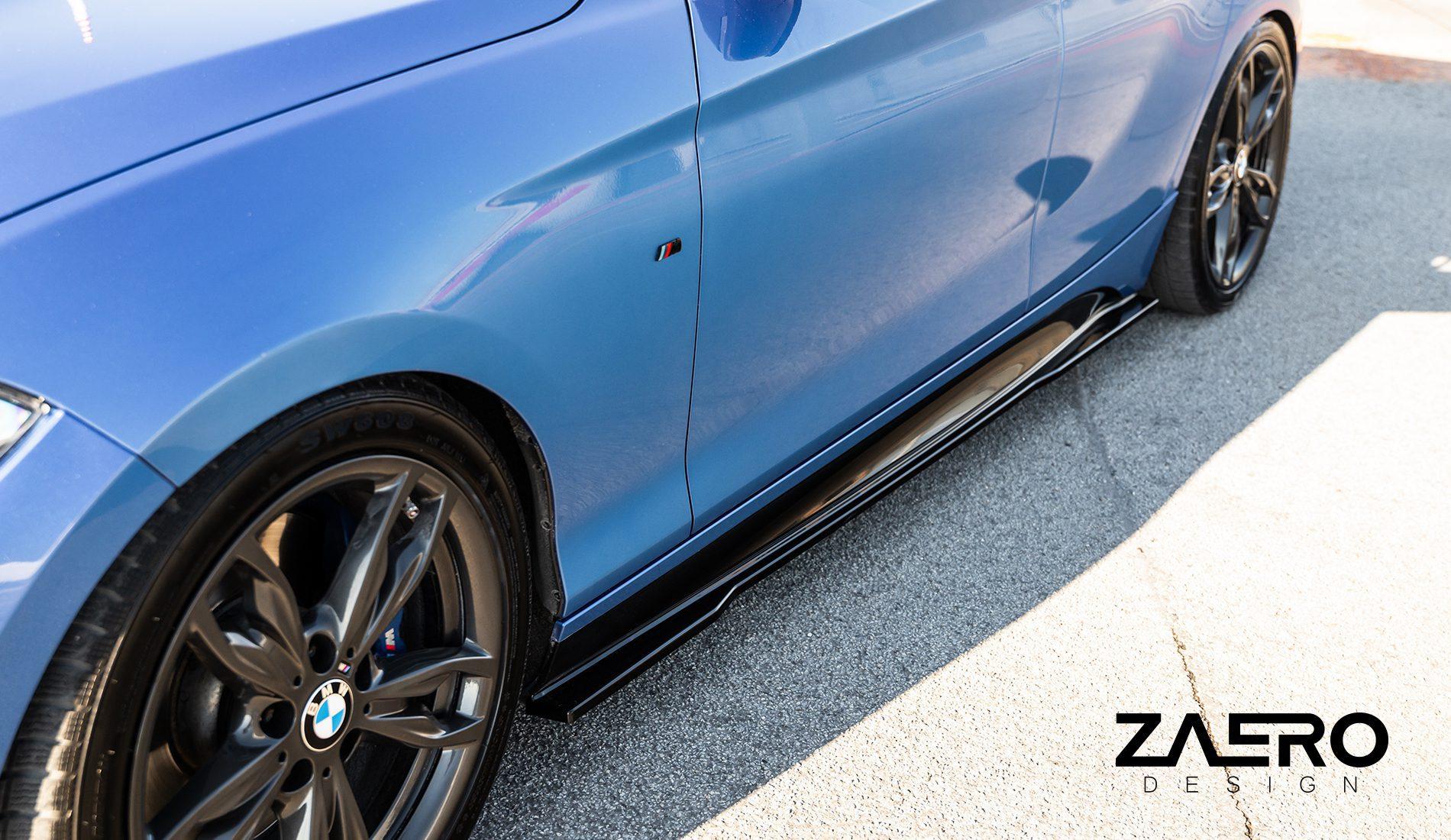 ZAERO-DESIGN-EVO-1-SEITENSCHWELLER-FÜR-BMW-1ER-116i-118i-120i-125i-M135-F20-F21-SCHWELLER-SEITENLEISTEN-BODYKIT-DIFFUSOR-FLAPS-ANSATZ