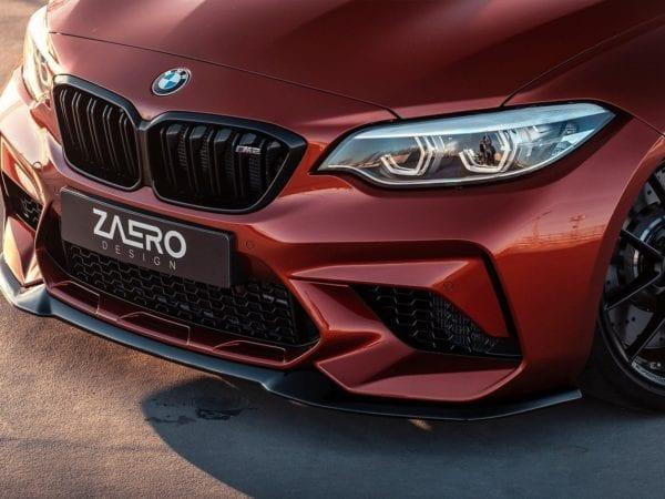 ZAERO-DESIGN-EVO-S-FRONT-LIP-FOR-BMW-M2-F87-COMPETITION-SPLITTER-BODY-KIT-SPOILER-EXTENSION